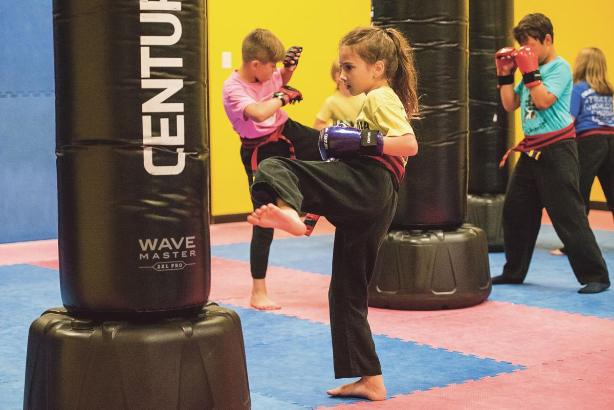 Columbia Martial Arts and Fitness children