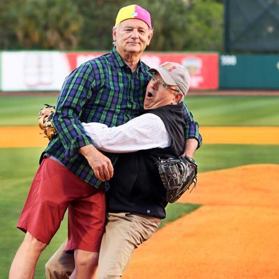 Bill Murray and the Mayor (copy)