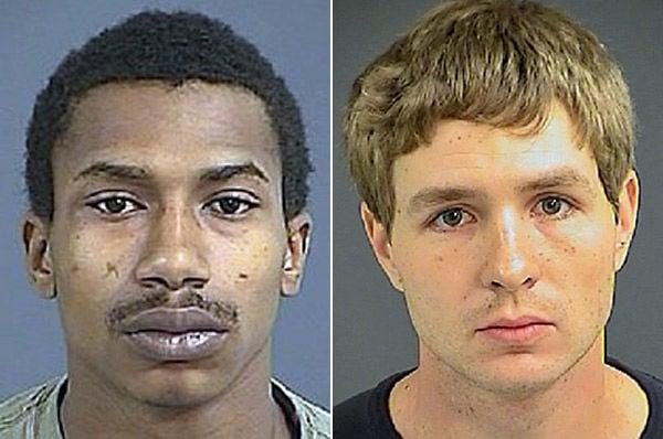 2 men charged in gun theft, firing