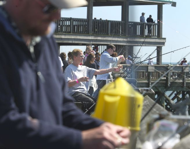 Folly Pier reopens