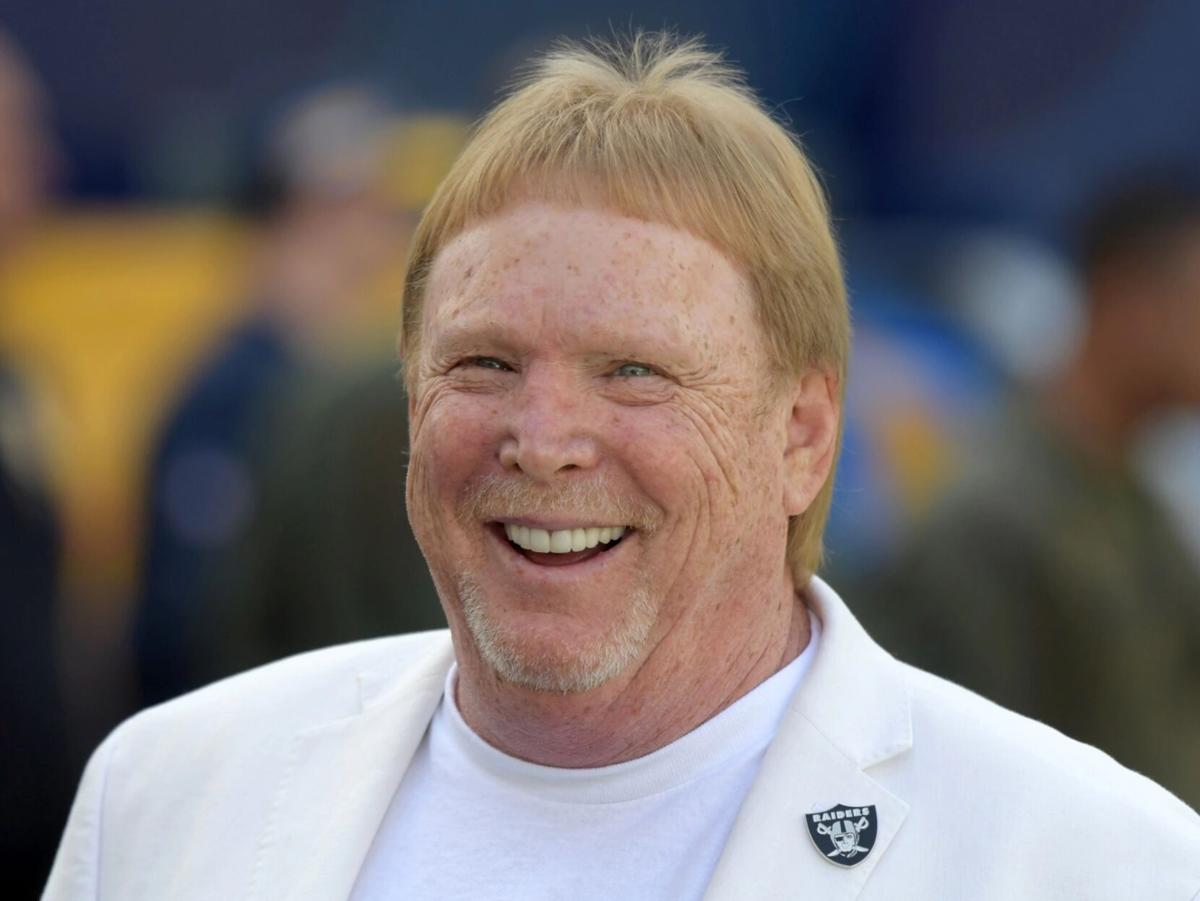 Raiders owner Mark Davis