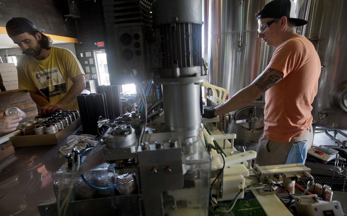 Mobile canners help small Charleston craft breweries get