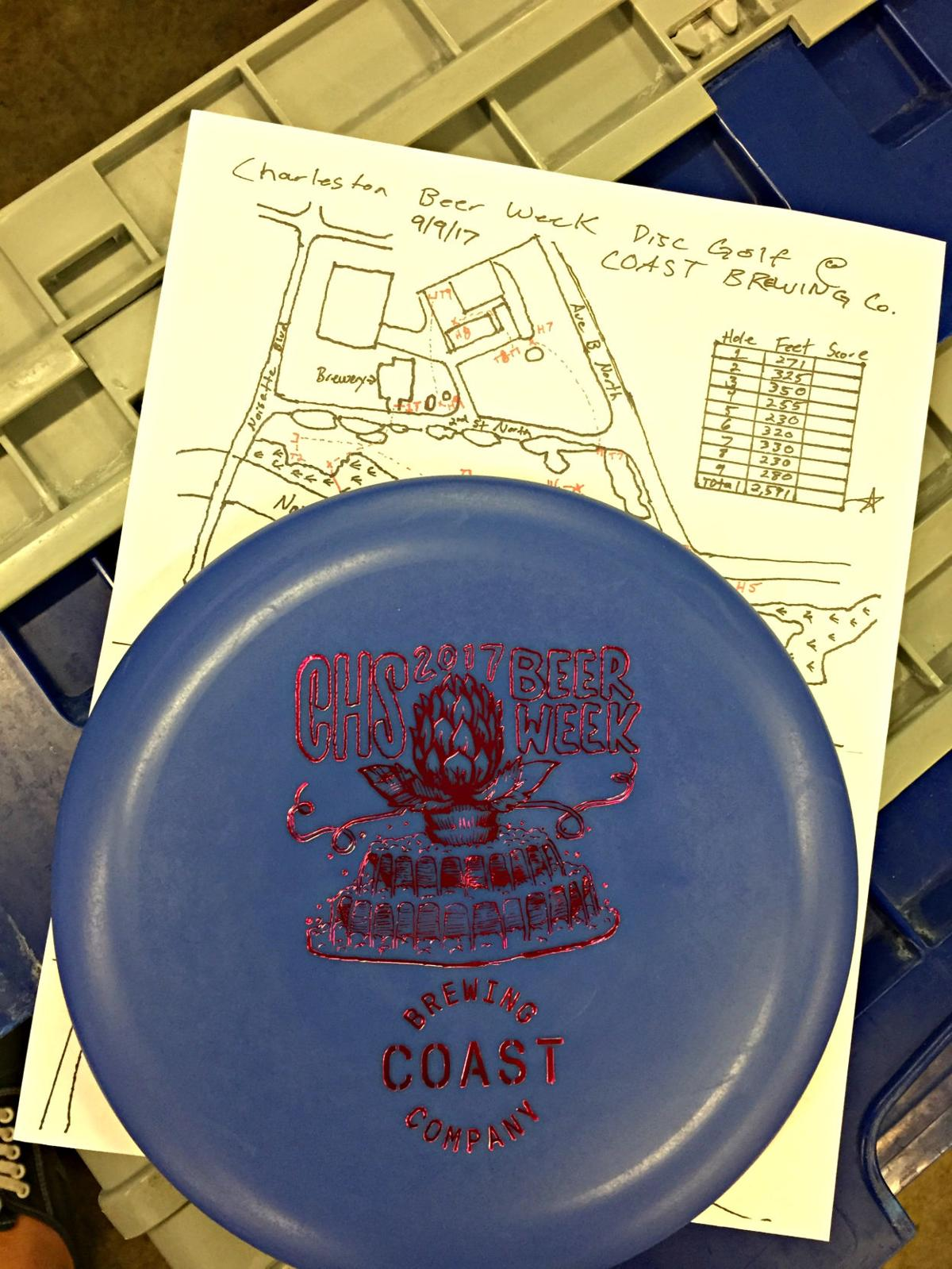 COAST hosted a disc golf tournament for Charleston Beer Week