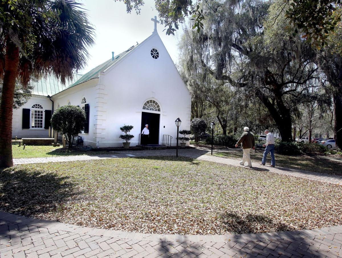 Old St. Andrew's Parish Church Tea Room (copy)