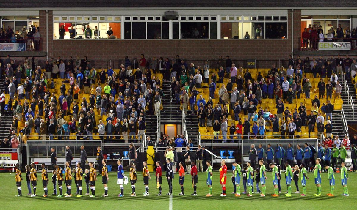 Carolina Challenge Cup soccer matches moved up one hour because of heavy rain expected tonight