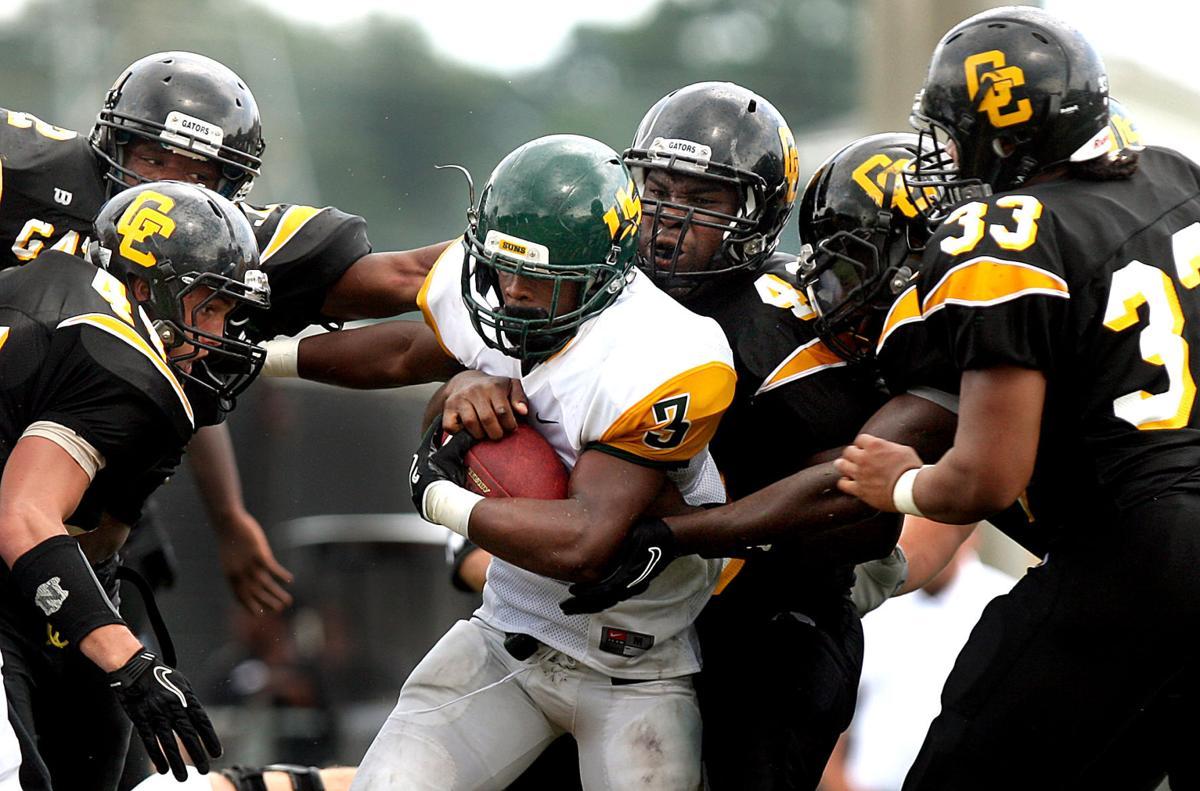 Goose Creek vs. University School football