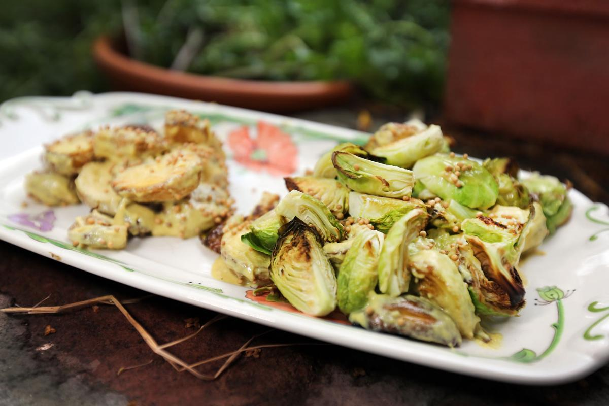 Brussels Sprouts and Potatoes