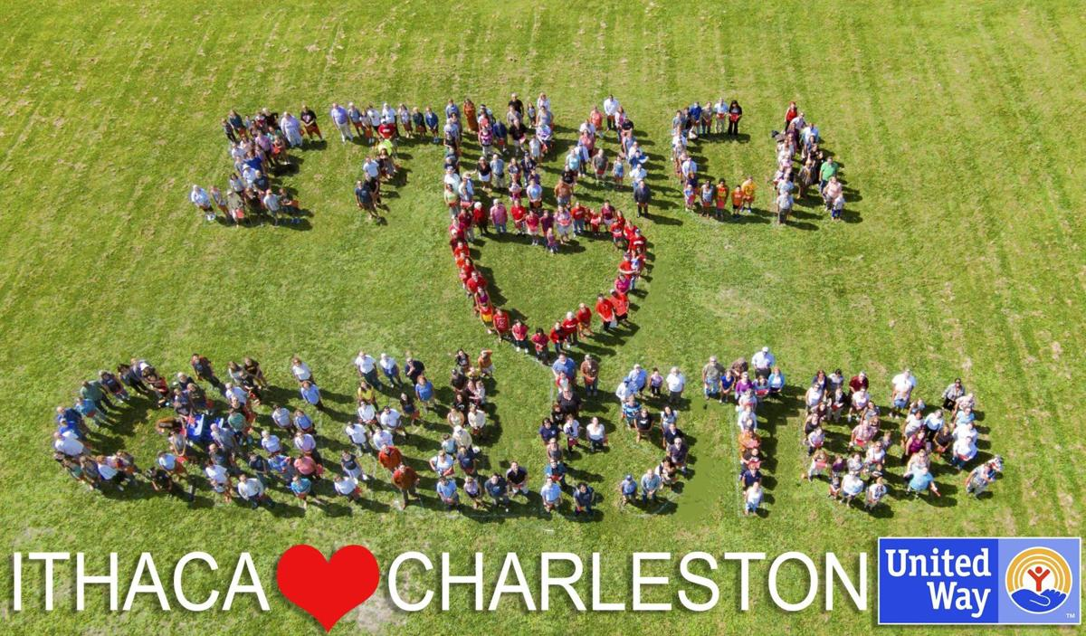 Ithacans send message of love to Charlestonians