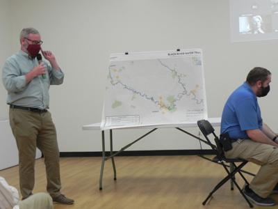 Black River meeting in Georgetown