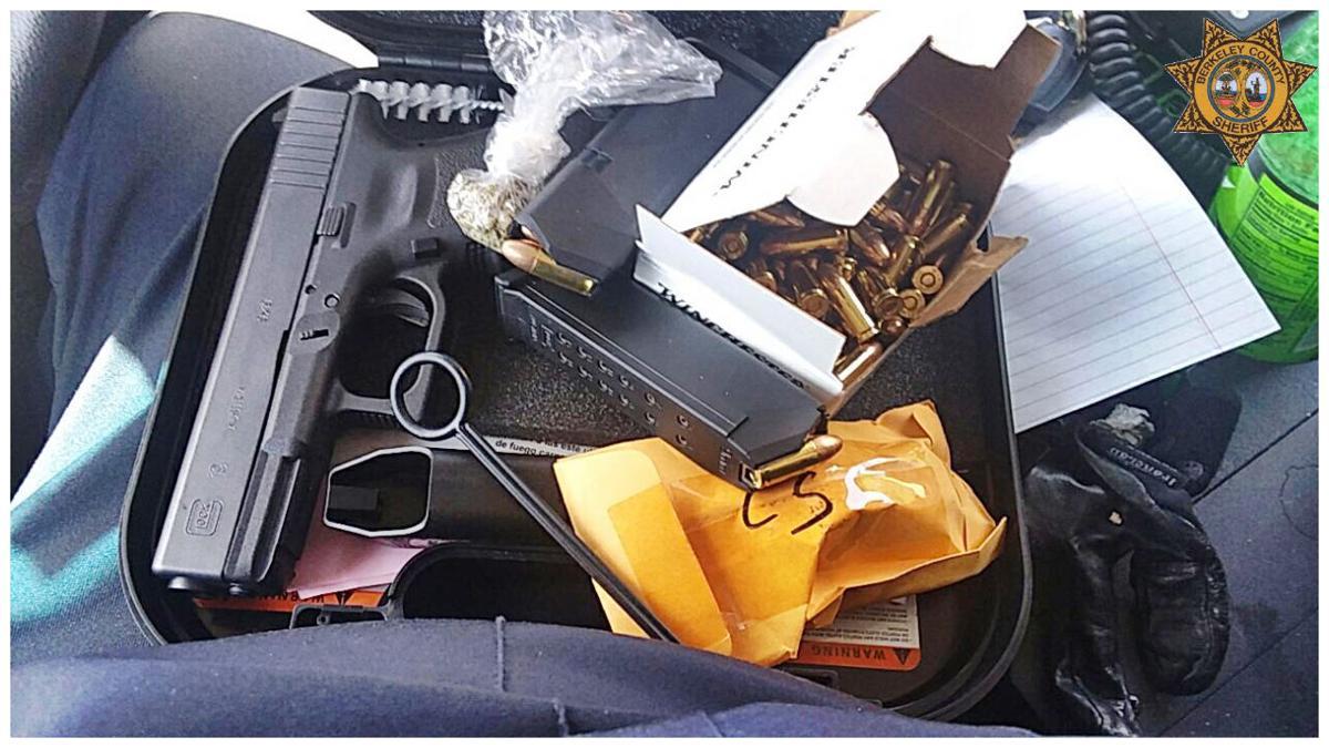 Handgun in Goose Creek High School student's car