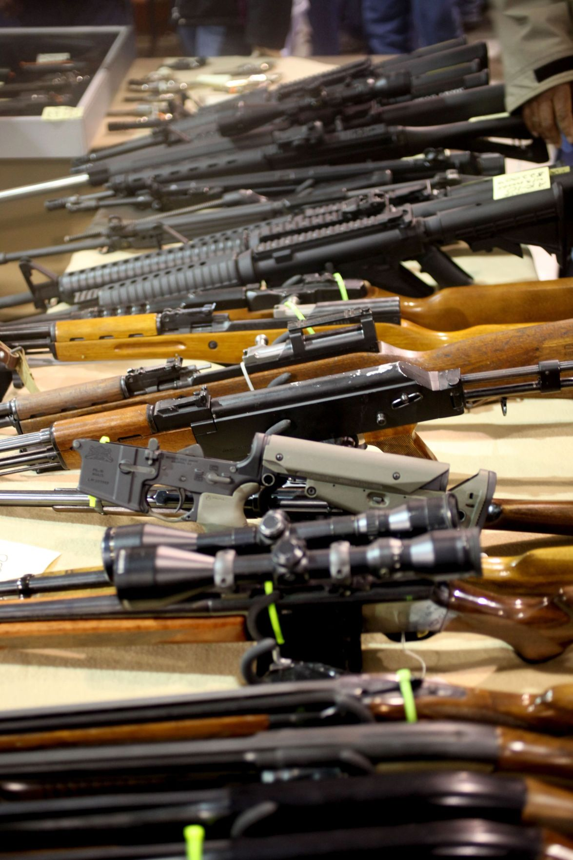Senate stumbles on gun control bills