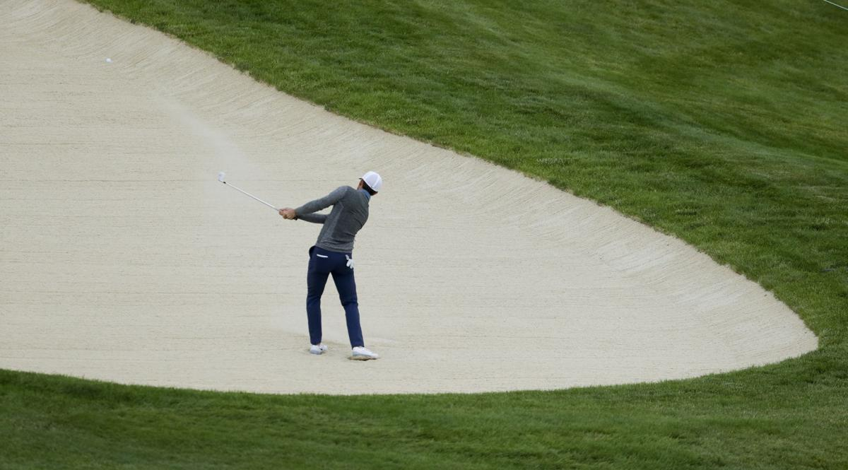 Practice round of the US Open