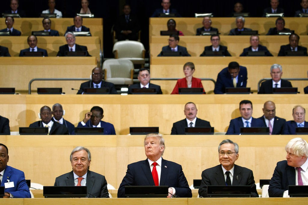 Trump opens United Nations comments with mention of Trump World Tower