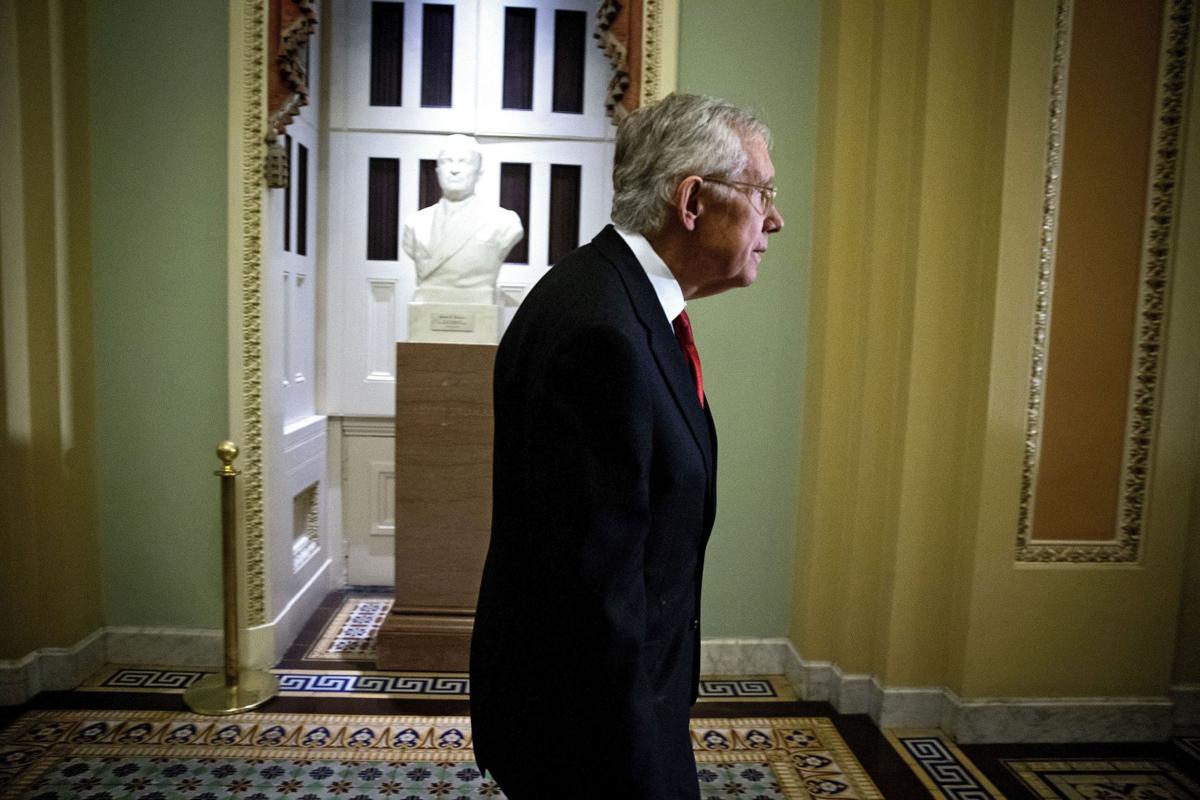 Reid keeps transparency on hold