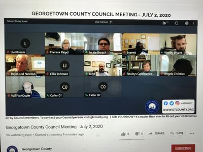 snapshot of Gtown County council