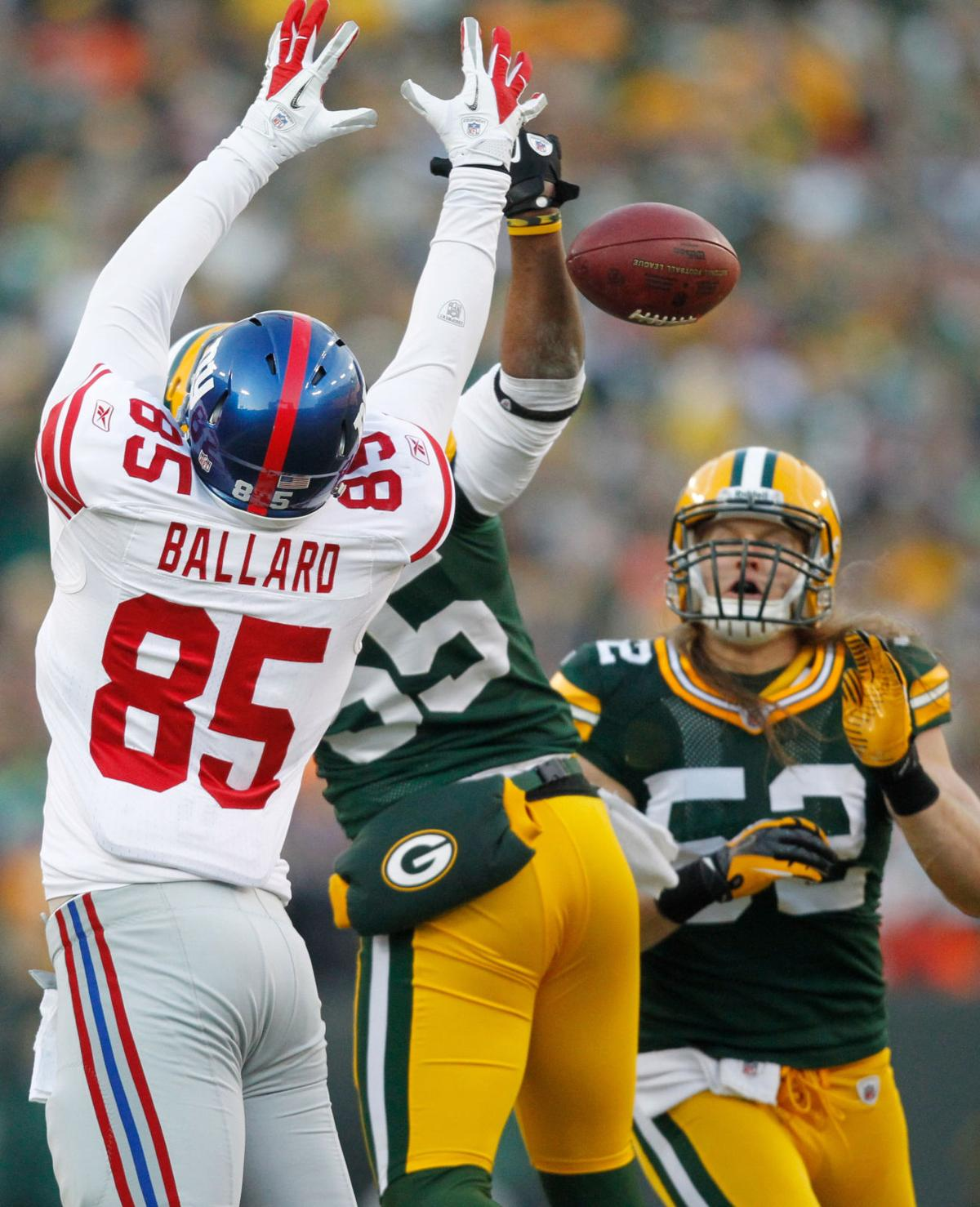 Green Bay Packers vs. New York Giants, NFL Football