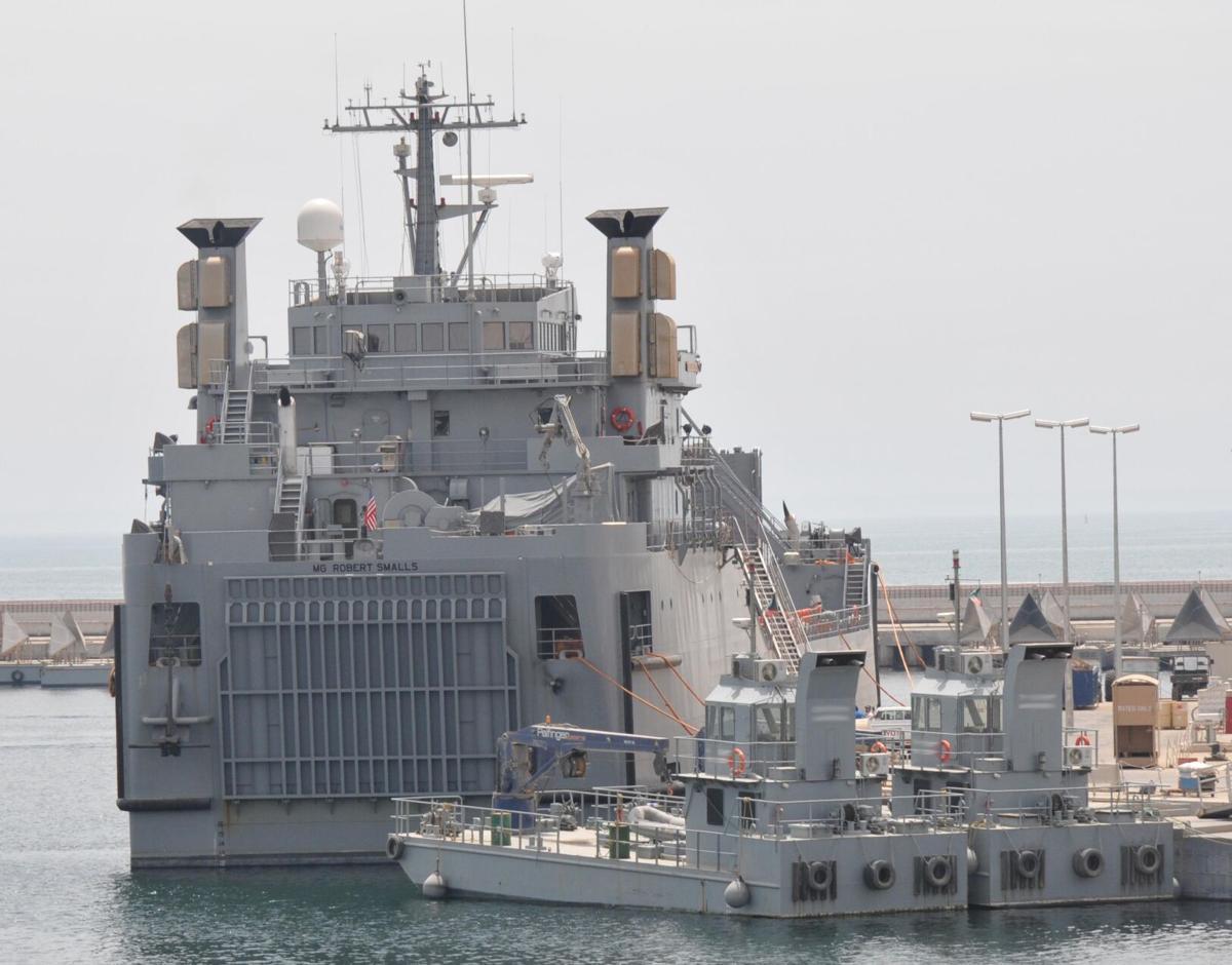 Maj. Gen. Robert Smalls Makes Port in Kuwait