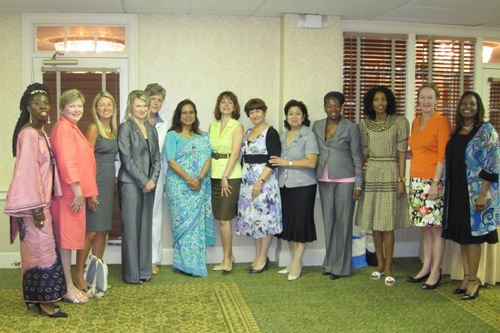 U.N., S.C. group meets to discuss women's issues
