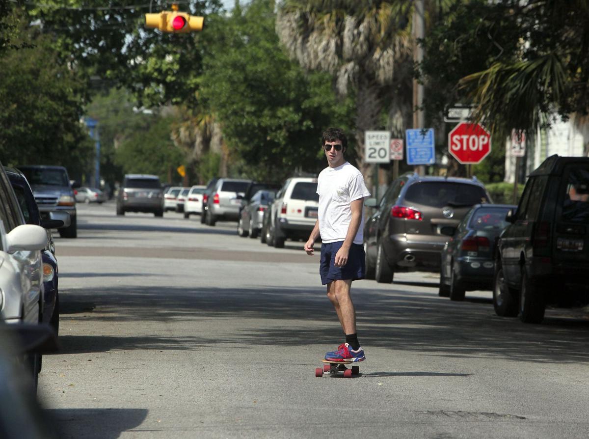 Charleston considering skateboard ban
