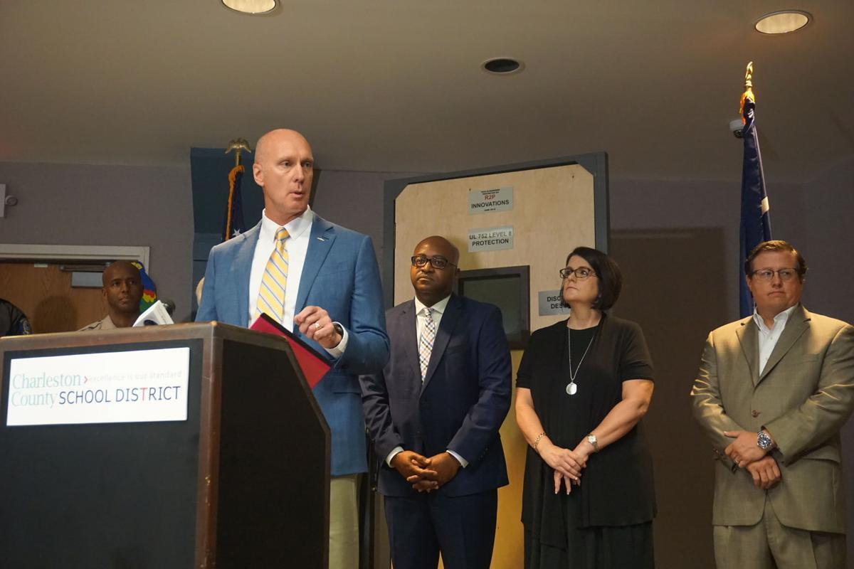 Bulletproof door pilot for Charleston schools 1