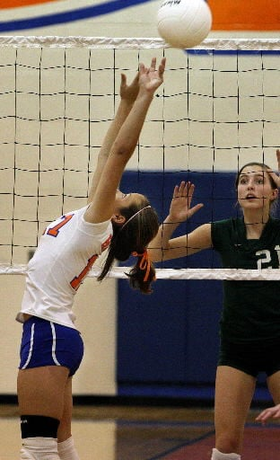Bishop England vs Hanahan volleyball
