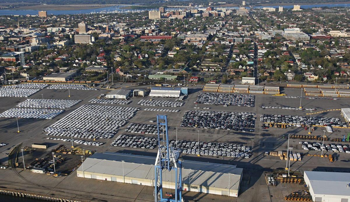 Booming with BMW Port of Charleston stays busy with luxury exports, even when world markets slow