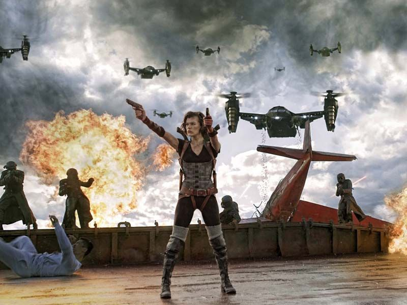 Will we ever evict 'Resident Evil' from theaters?
