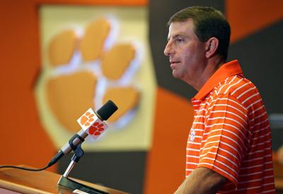 Clemson's Dabo Swinney: 'Players of any faith or no faith at all are welcome in our program'