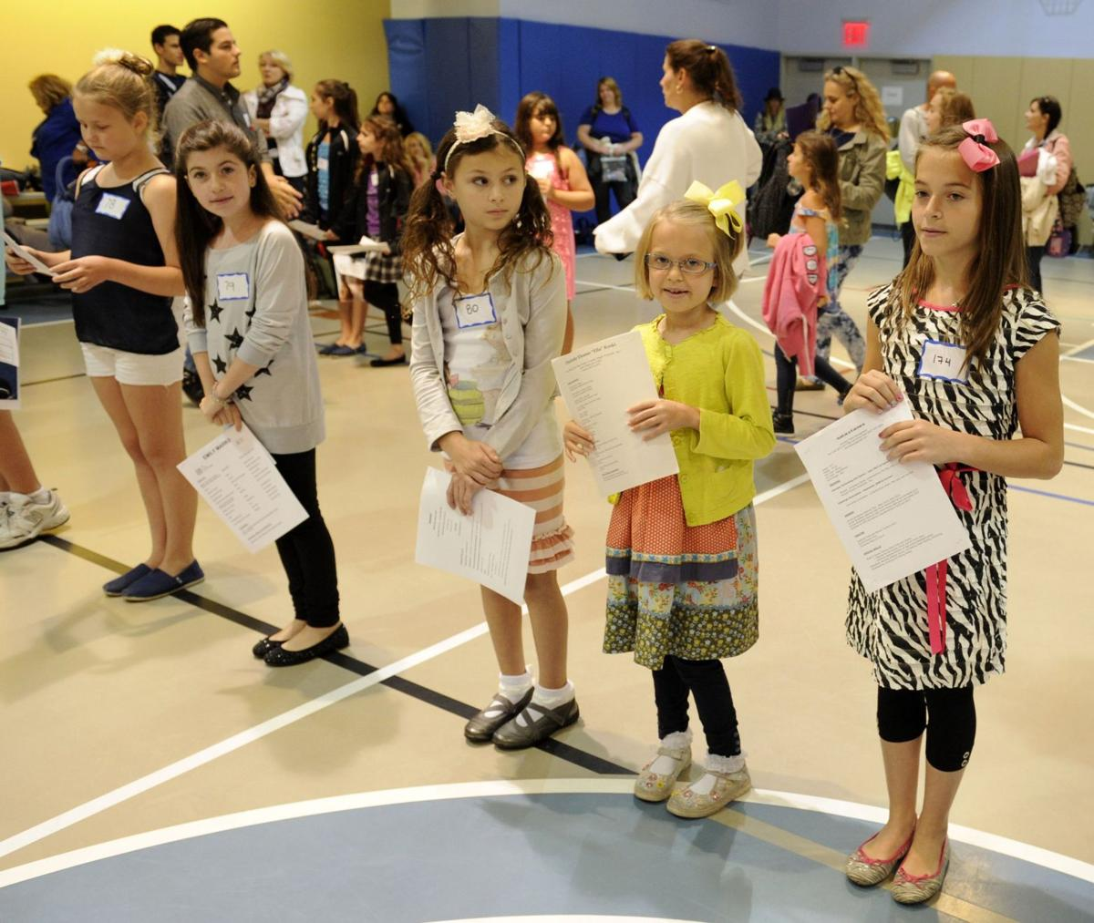 Kids audition for 'The Sound of Music'