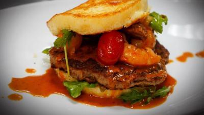 RiverDogs burger