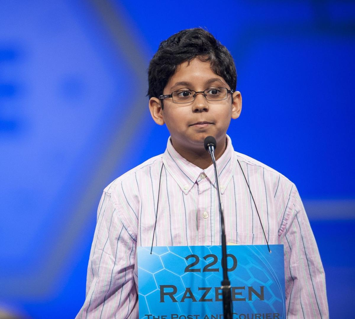Area boy out after early rounds of National Spelling Bee