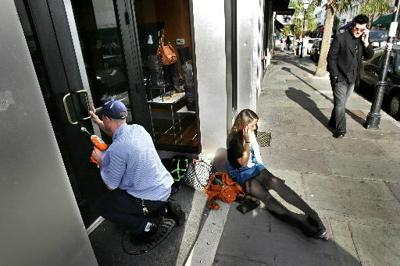 Vandals squeeze glue into locks of King Street businesses