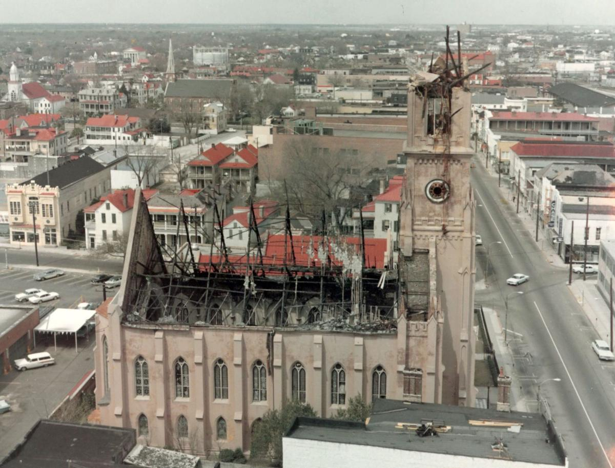 St. Matthew's fire damage