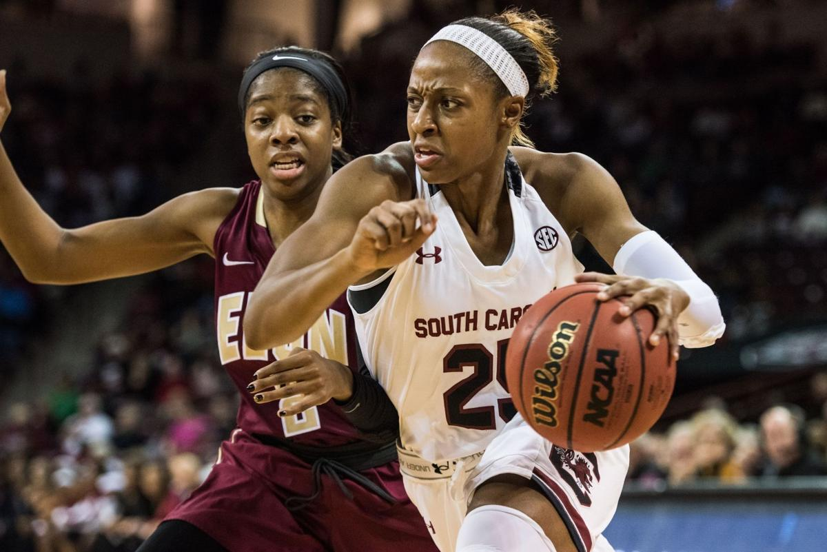 Mitchell in, Dozier out for USC against UConn