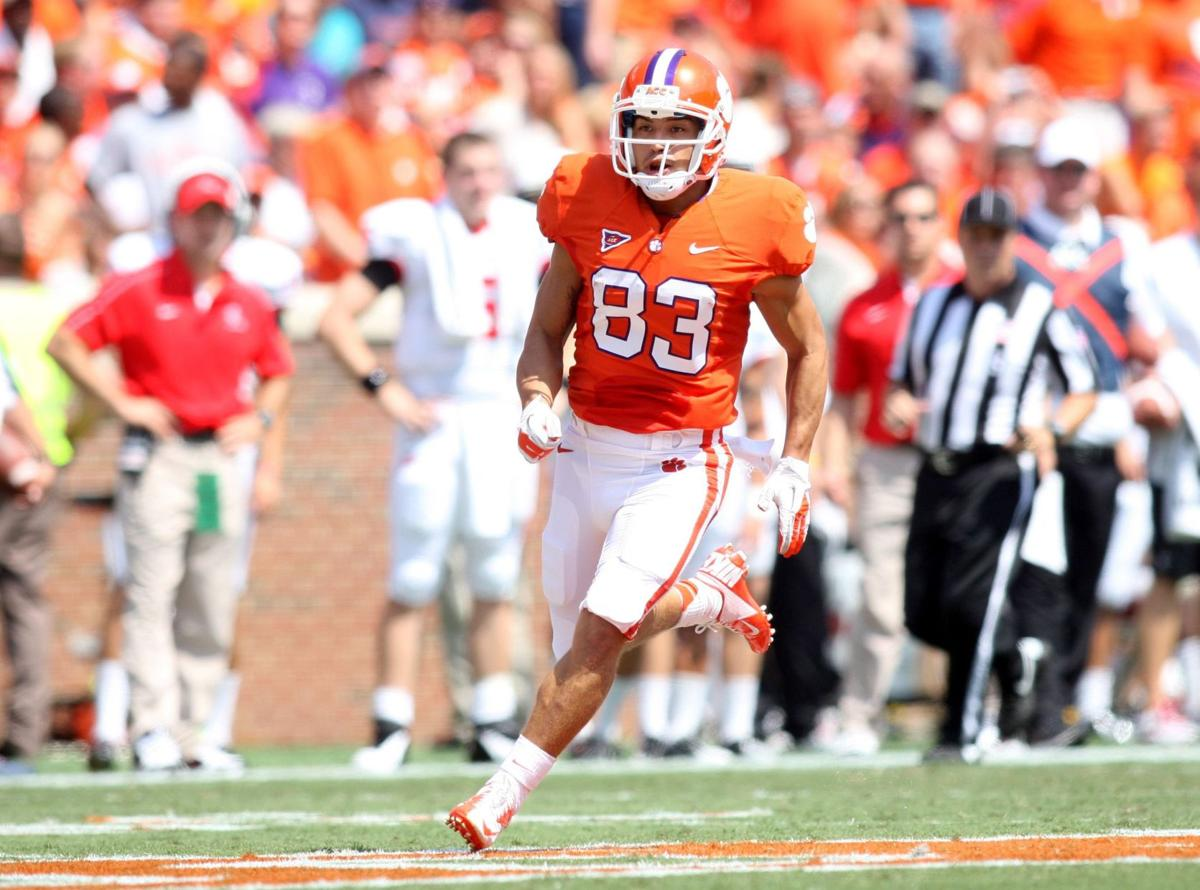 Clemson's Rodriguez using football to cope with invisible war wounds