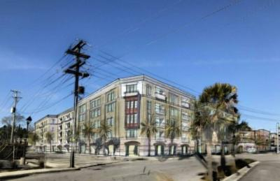 Downtown Charleston Apartment Proposal Up For Review At Site Of