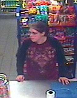 Woman sought for questioning