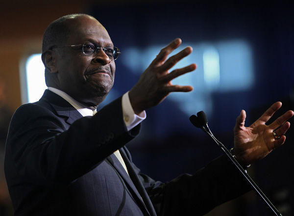 Cain gives support to 'American people'