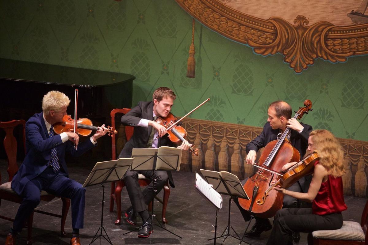 Ending chamber music series programs with a bang