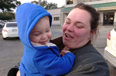 Boy reunited with his mother after child abuse investigation