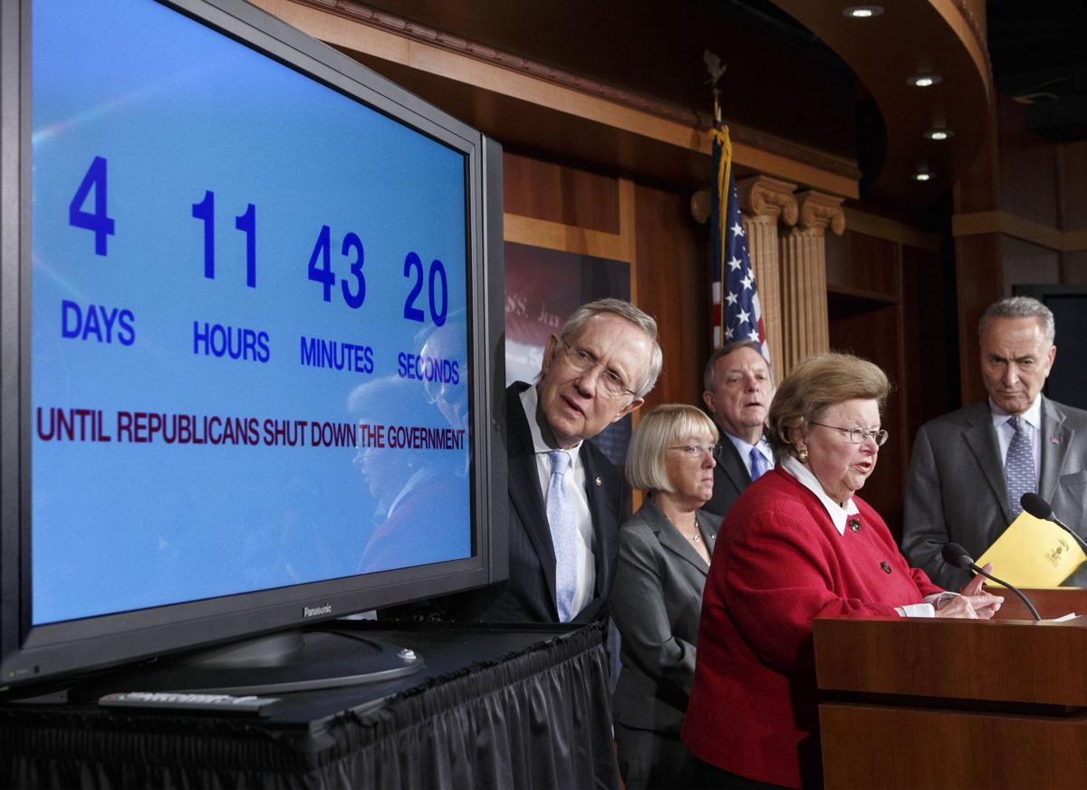 Stage set for government shutdown