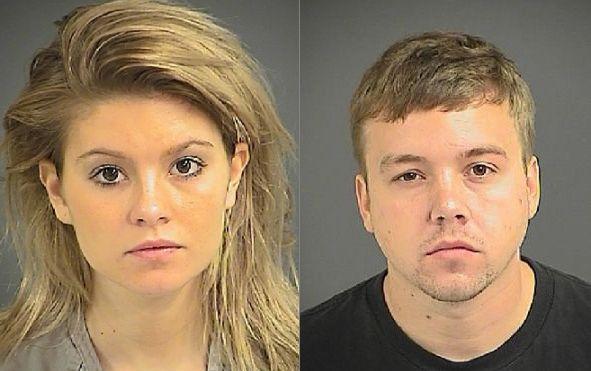 Pair charged in Charleston school break-in