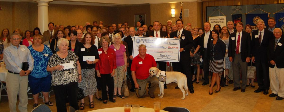 Exchange Club gives grants to 66 groups