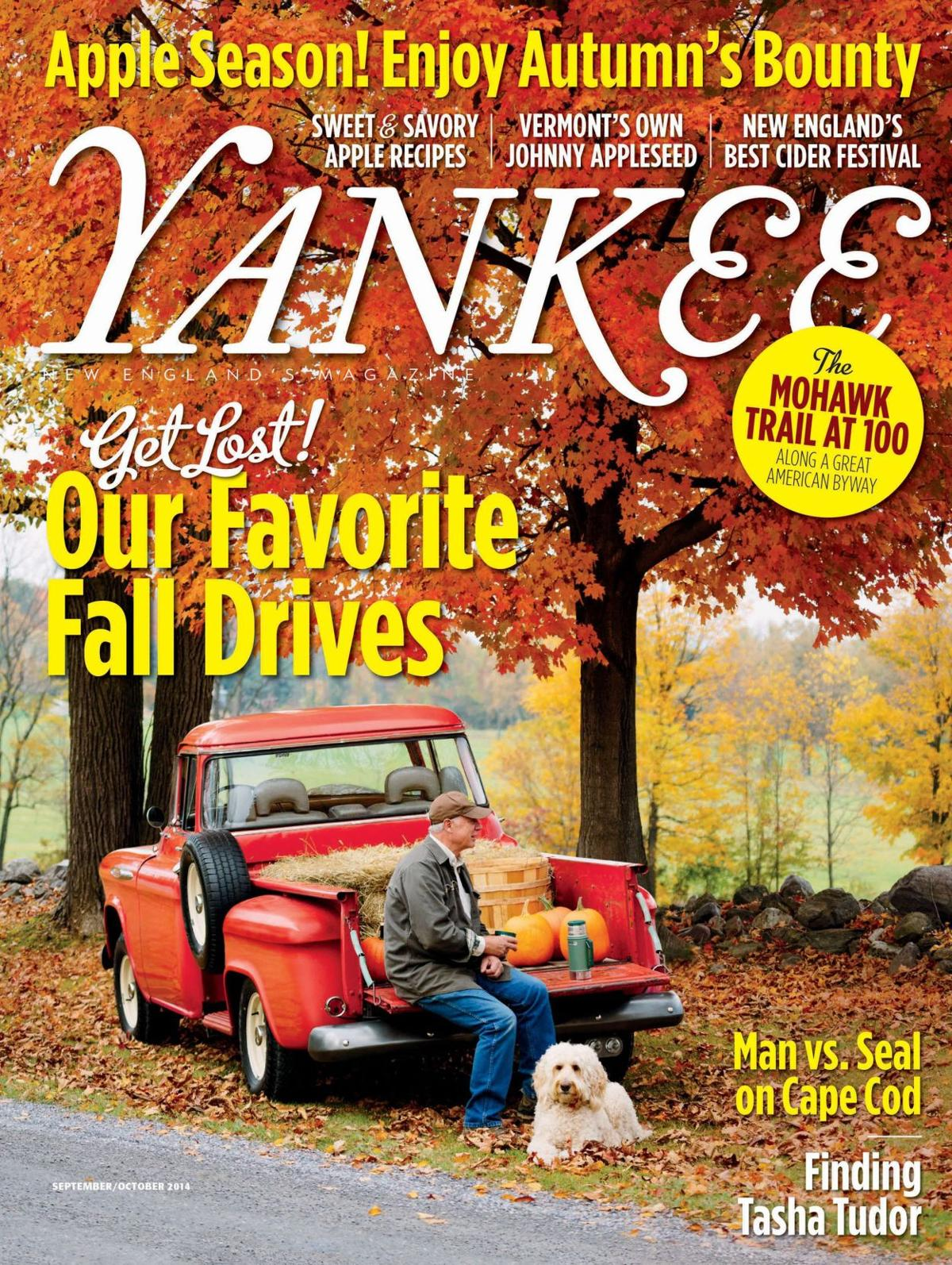Yankee Mag offers ideas for trips to New England