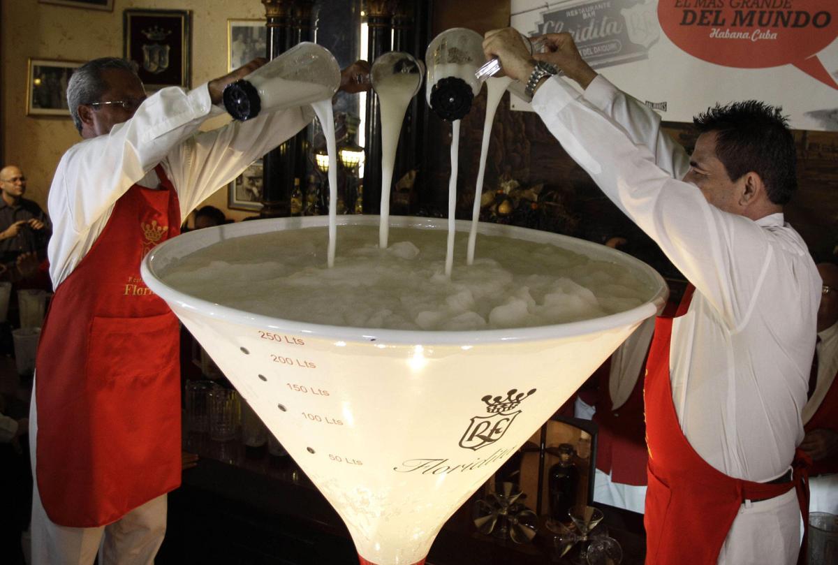 Cuba tavern tries for world record daiquiri