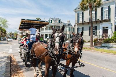 Free Charleston carriage ride for toy donation