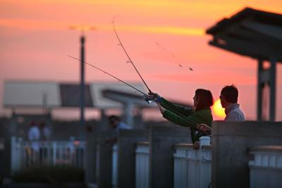 A reel good time Mount Pleasant pier attracts plenty of fish and anglers