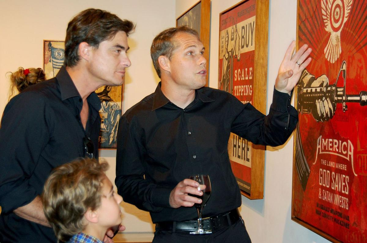 Shepard Fairey opens up about commercial success, its relation to his artwork
