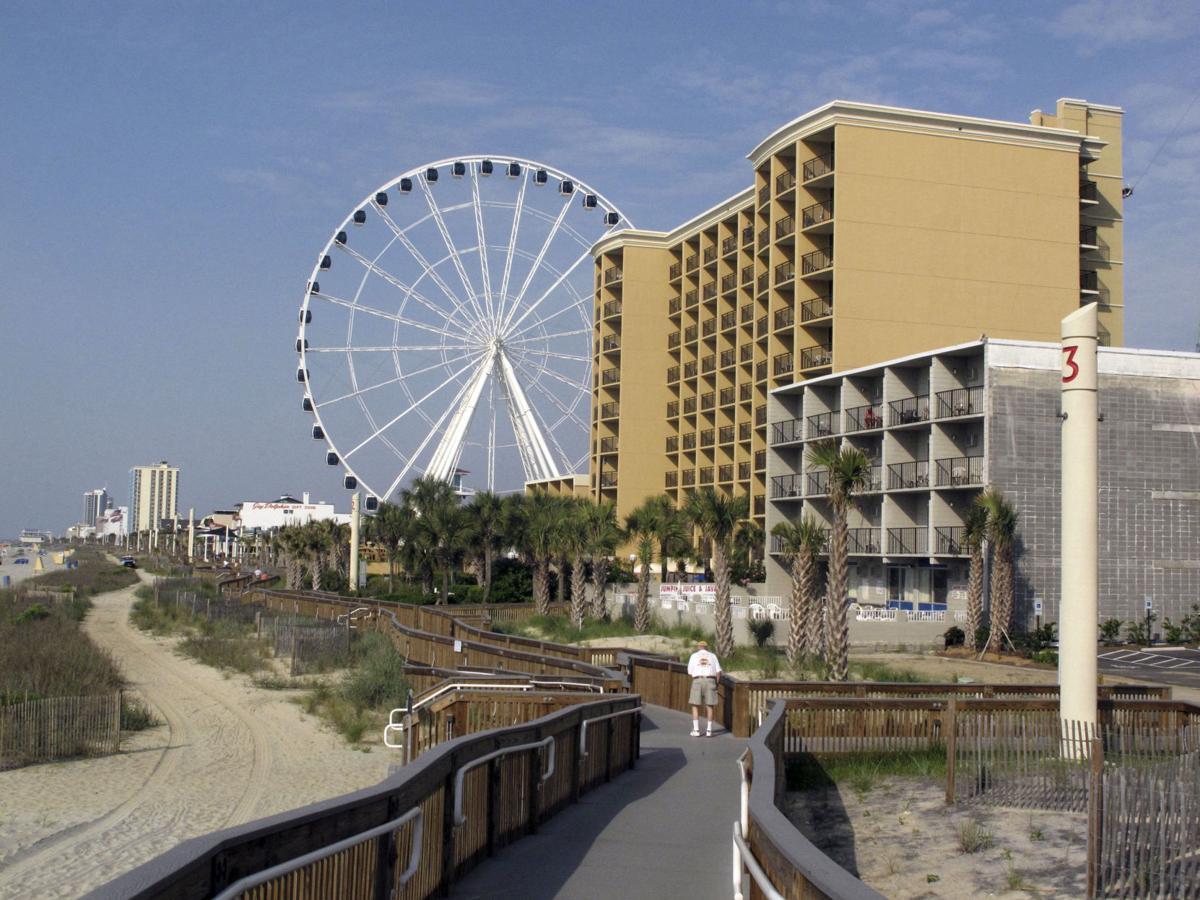 Travel Trip Myrtle Beach Wheel