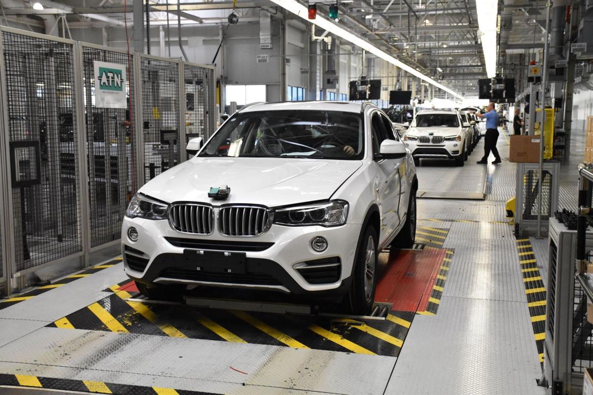 Bmw plant marks new manufacturing milestone